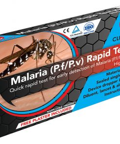 Clinihealth Malaria Test Device Complete SINGLE