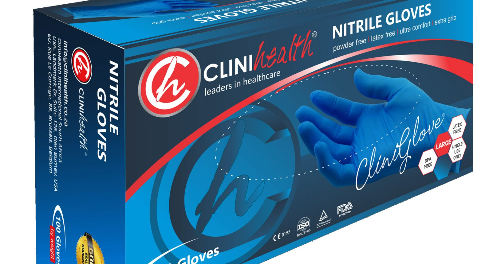 clinihealth nitrile gloves