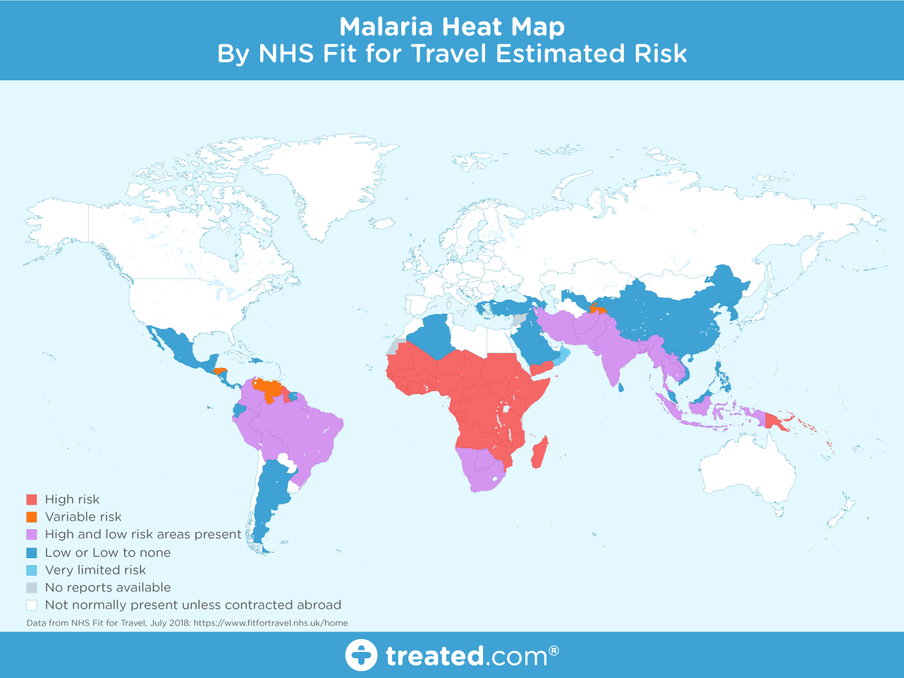 GLOBAL MALARIA AREAS